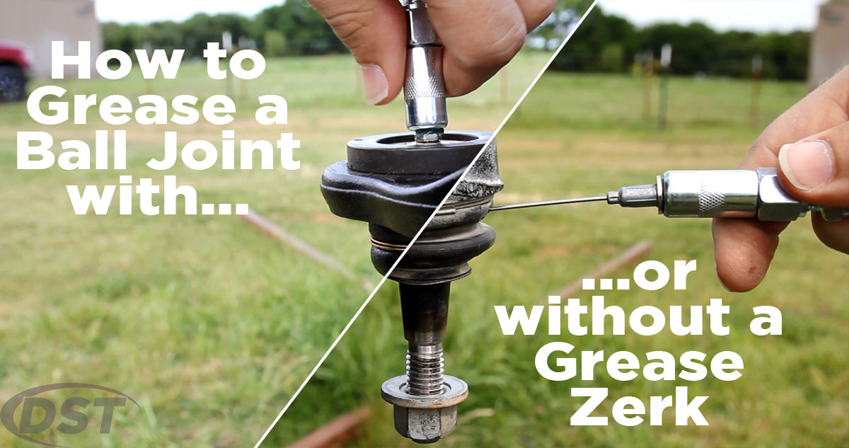 how to grease a ball joint