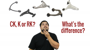 Moog K, CK, r RK Difference