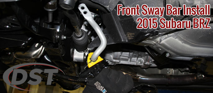 How-to Install a Front Sway Bar on a Subaru BRZ, Scion FRS and Toyota G86