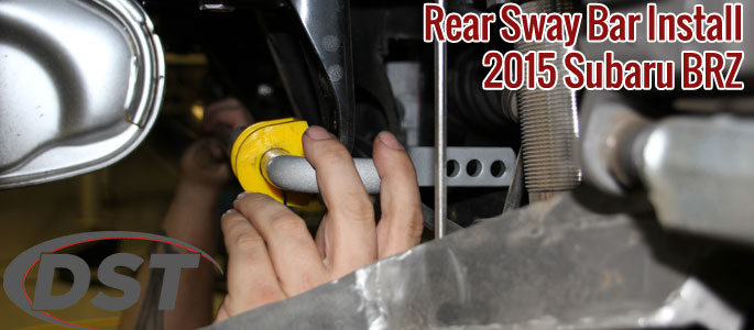 Step by Step Guide to Install a Rear Sway Bar on a Subaru BRZ, Scion FRS and Toyota G86
