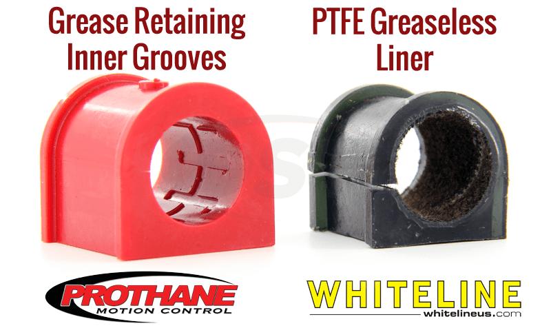 prothane grooves vs whiteline ptfe liner
