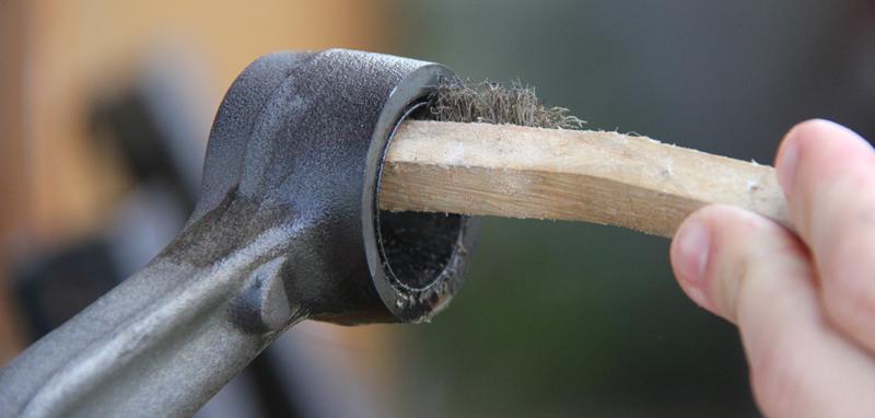 Burn Out Bushings Wire Brush