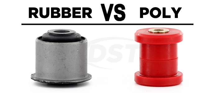 Rubber vs Polyurethane Suspension Bushings