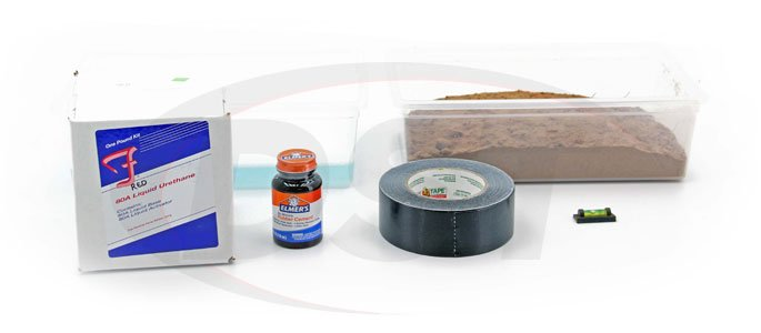 Do It Yourself Liquid Urethane Motor Mount Replacement Materials