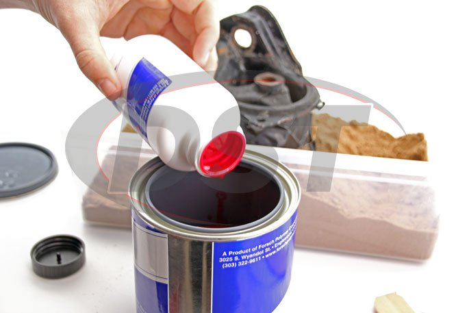 Do It Yourself Liquid Urethane Motor Mount Replacement Mix