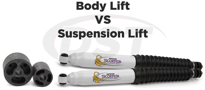 Body Lift vs Suspension Lift
