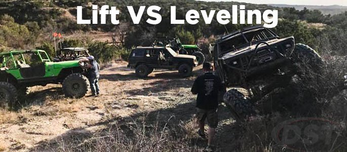 lift kits vs leveling kits