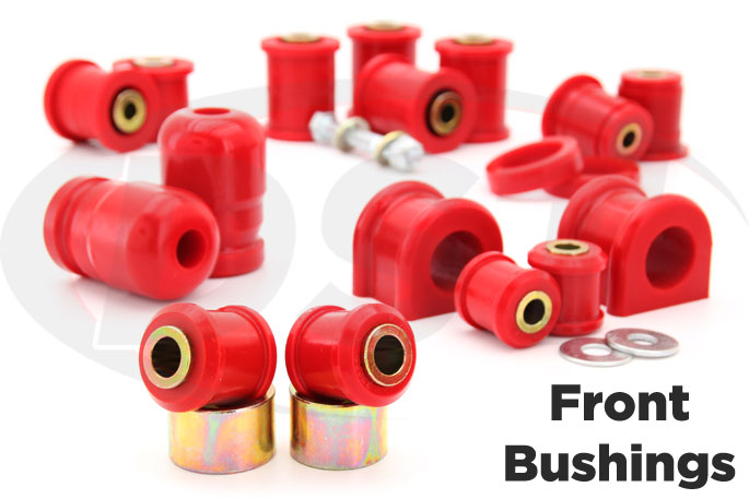 07-17 jeep jk polyurethane front suspension bushings