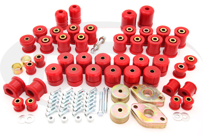 complete suspension bushing kit 07-17 jeep jk