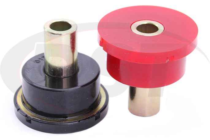 subaru outback legacy rear sub frame bushing black and red
