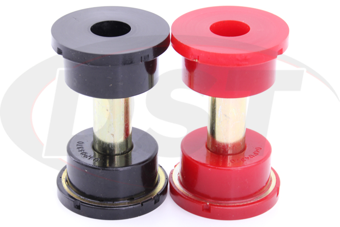 subaru outback legacy rear sub frame bushings red and black
