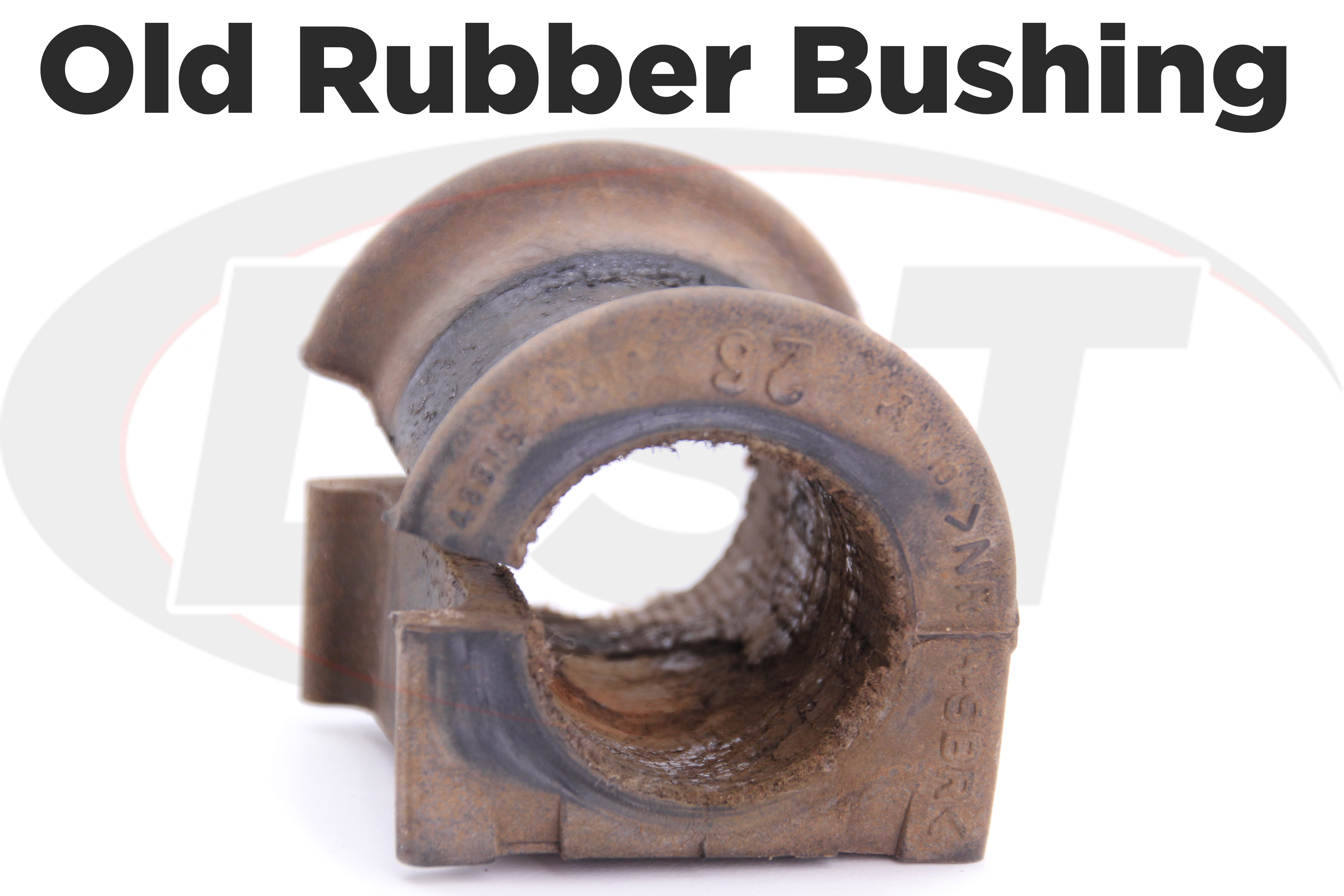 subaru old rear rubber sway bar bushing