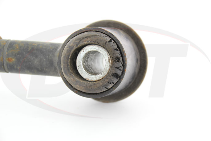 old rubber track bar bushing