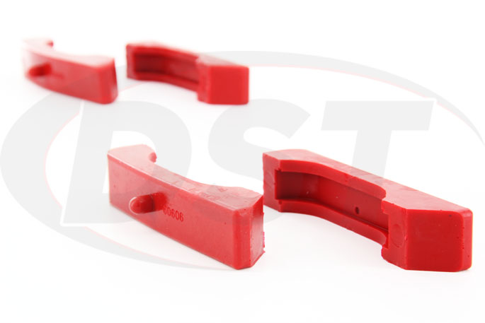 polyurethane radiator isolators for chevy cars and trucks