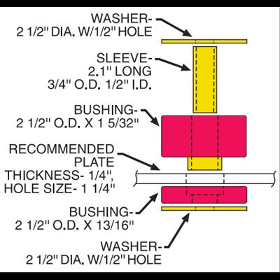 ES94102 dimensions