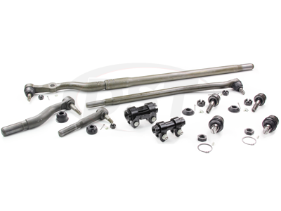 Moog_PackageDeal012 Ford F250 F350 Super Duty 4WD 99-04 Front End Steering Pack