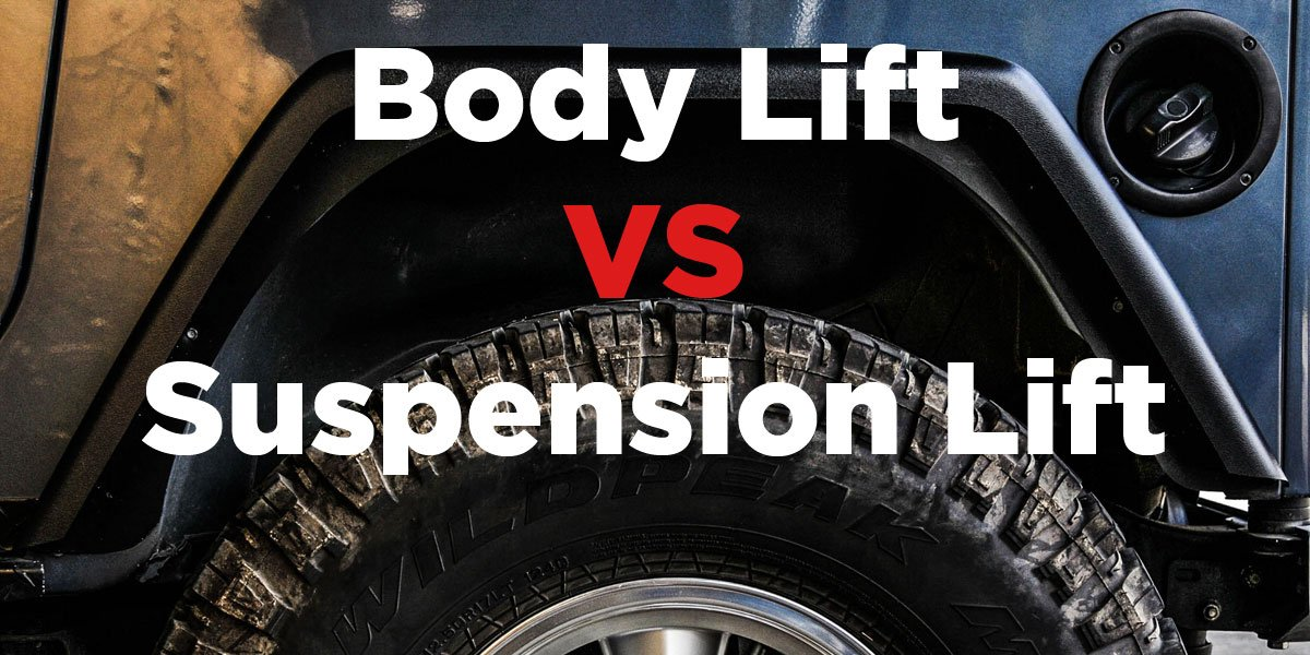 How Much Does A Lift Kit Cost >> Body Lift Vs Suspension Lift Which Is The Best For Your