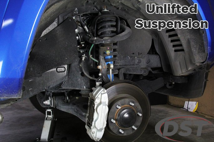 toyota tacoma suspension before suspension lift