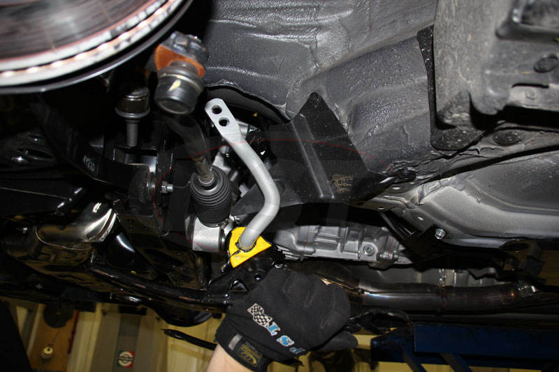 brz front sway bar install