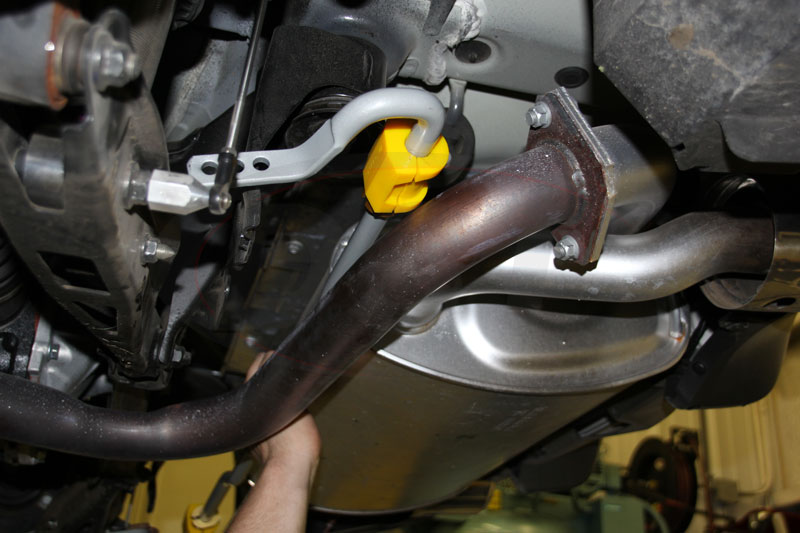 brz rear sway bar install