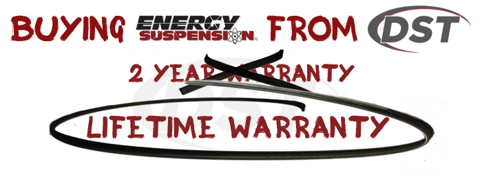 Energy Suspension Lifetime Warranty