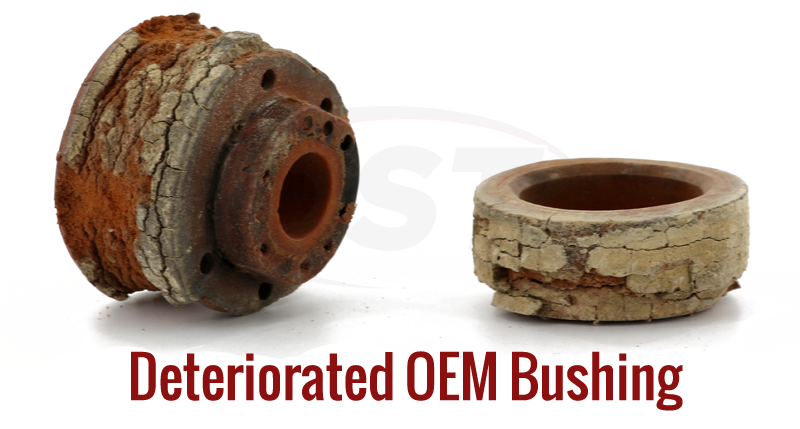 Polyurethane and Rubber Breakdown of Differences in Suspension Body Mount Bushings
