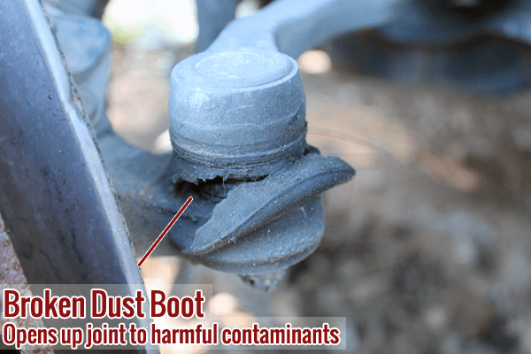 Polyurethane and Rubber Breakdown of Differences in Suspension Dust Boot Covers