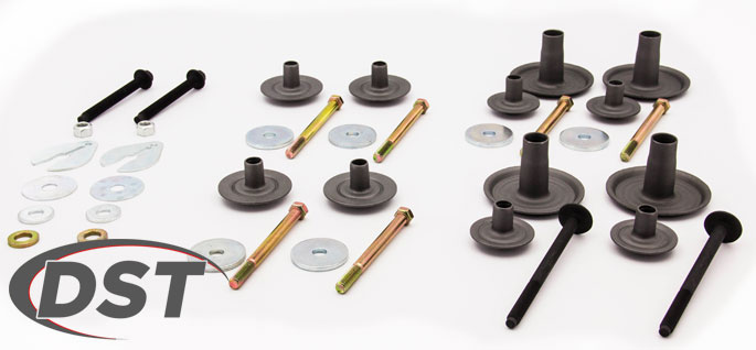 body mounting hardware kits and bolts