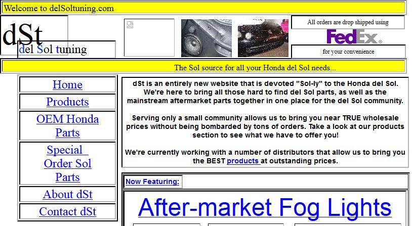 DST Website 2004