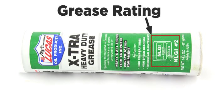 grease rating