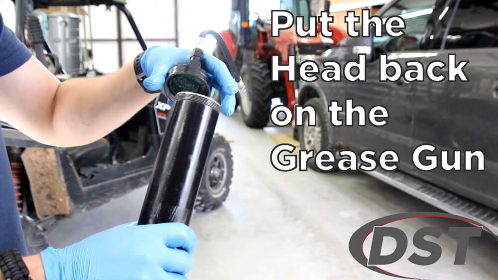 loading a grease gun step 7