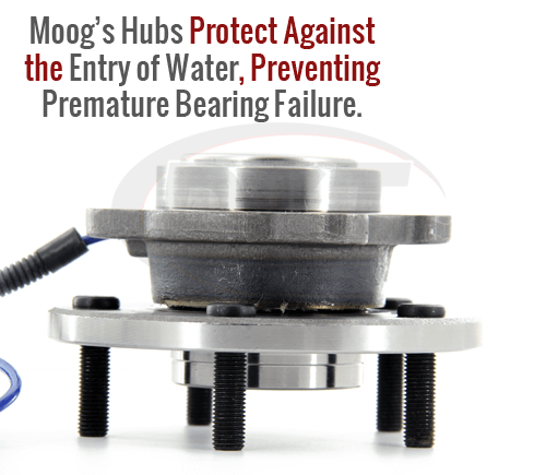 Moog wheel bearing and hub assembly