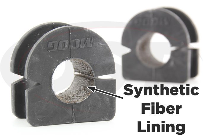 synthetic fabric lined 30mm front sway bar bushings