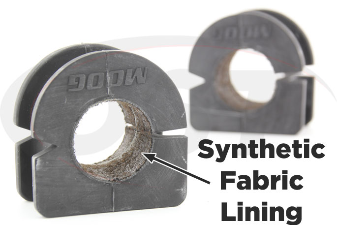 synthetic fabric lined 31mm front sway bar bushing