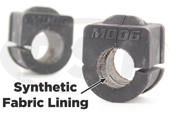 synthetic fabric lined 29mm front sway bar bushings