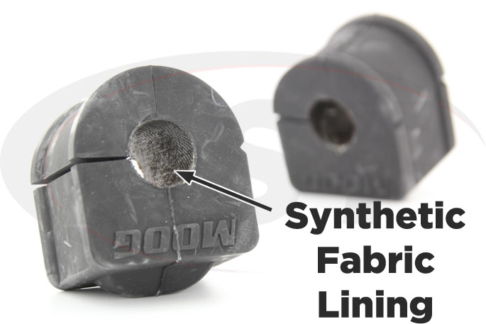 synthetic fabric lined 20mm front sway bar bushings