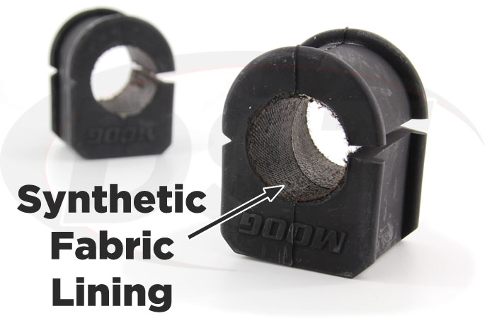 32mm synthetic fabric lined front sway bar bushings