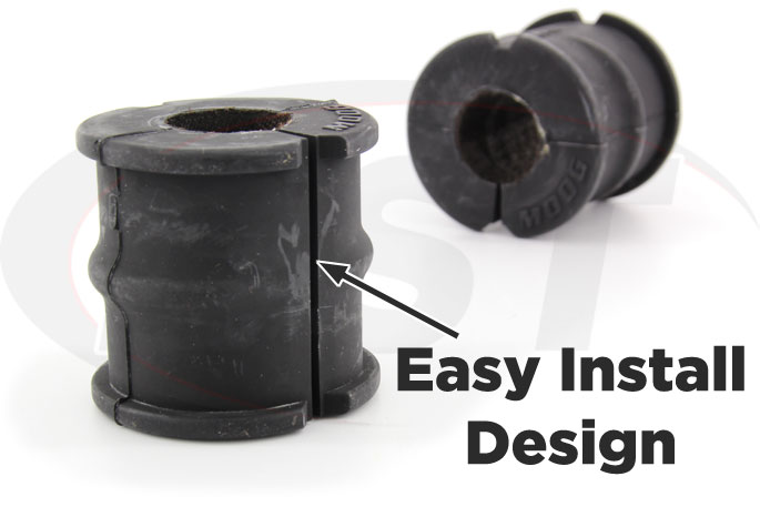 synthetic fabric lined front sway bar bushings chrysler and dodge