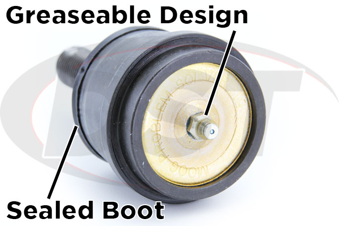 upper ball joint greasable design