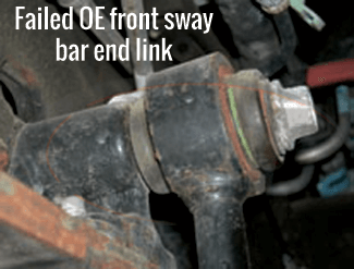 Front Sway Bar End Link Replacement Excursion 0005. K80274 Two. Ford. 2004 Ford Excursion 4x4 Front End Diagram At Scoala.co