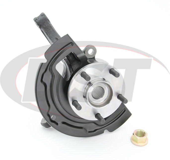 Front Steering Knuckle Assembly