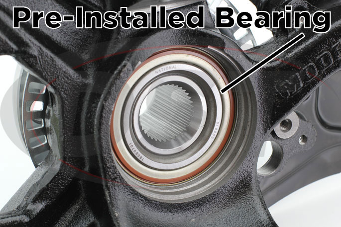 vw golf front wheel bearing replacement