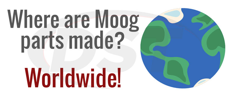 where are moog parts made