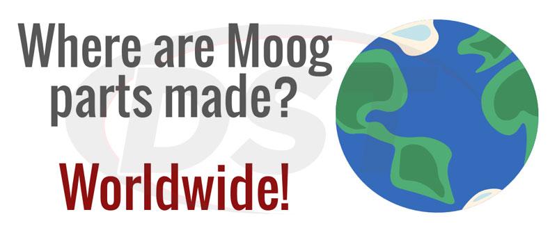 where are moog parts made