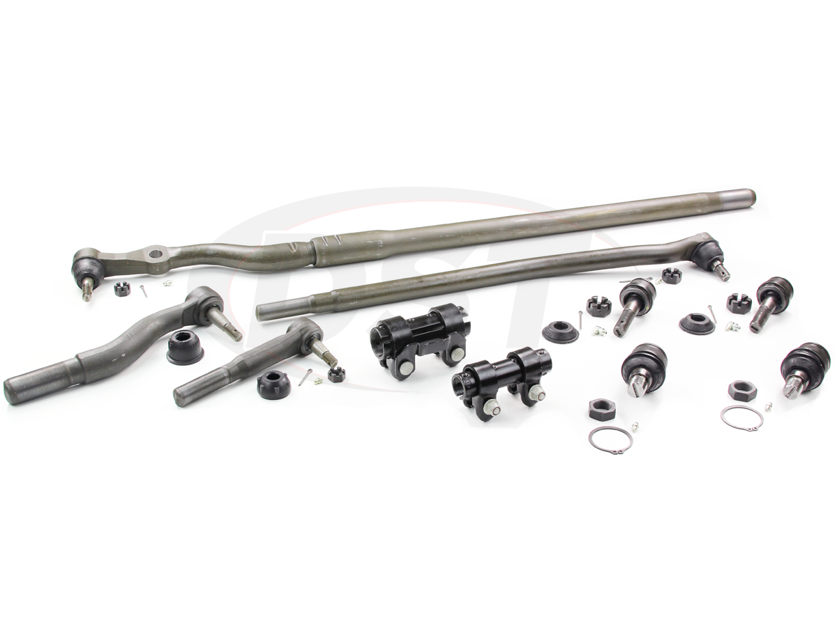 moogpackagedeal12 moog_packagedeal012 99 04 ford f250 & f350 steering rebuild kit