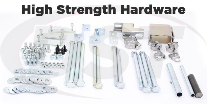 toyota body lift hardware