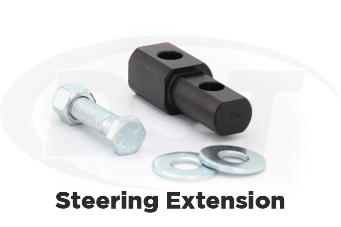 ford bronco 2 steering extension