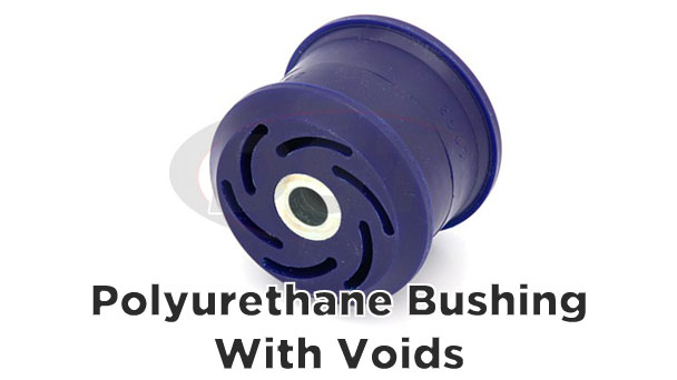 superpro voided polyurethane bushing