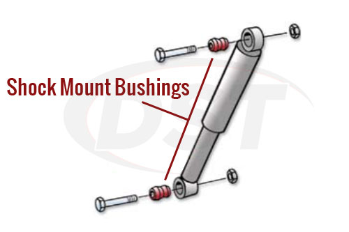 Shock Mount Bushing Diagram