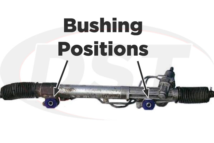 steering rack bushings 98-07 landcruiser and lx470